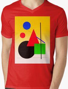 sun rise cityscape Mens V-Neck T-Shirt