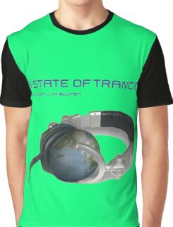 A State Of Trance World headphone Graphic T-Shirt