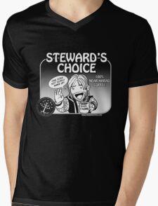 Steward's Choice Coffee Mens V-Neck T-Shirt