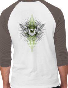 flying eye - vondutch Men's Baseball ¾ T-Shirt