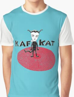 Kafka Cat Metamorphosis Graphic T-Shirt