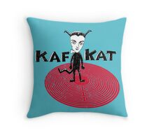 Kafka Cat Metamorphosis Throw Pillow