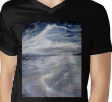 Stranded in Lancelin Mens V-Neck T-Shirt