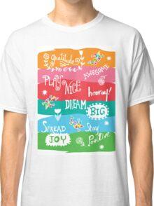 Woo Hoo Words Classic T-Shirt