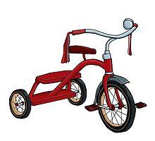 vintage tricycle by burenkaUA