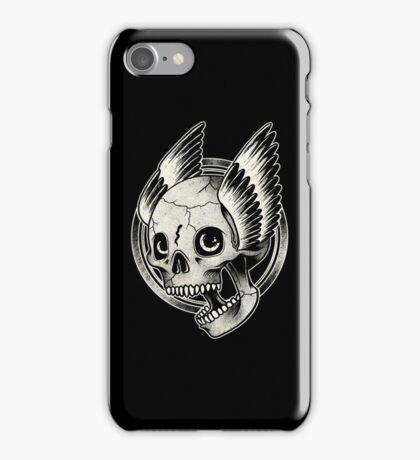 Bikers Skull Wings  iPhone Case/Skin