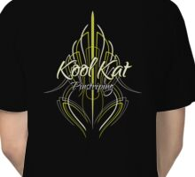 Kool Kat Pinstriping (Slime Green) Classic T-Shirt