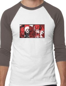 City of Villains Men's Baseball ¾ T-Shirt
