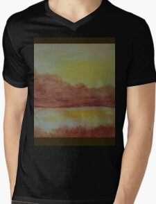 Glowing Reflections WC151207p-13 Mens V-Neck T-Shirt
