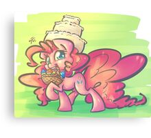 Pastry Delivery Canvas Print