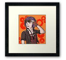 Steampunk Ellie Framed Print