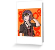 Steampunk Ellie Greeting Card