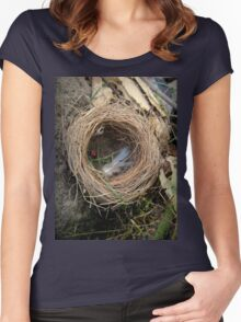 empty nest Women's Fitted Scoop T-Shirt