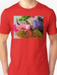 Pollen Everywhere! Assorted Flowers Unisex T-Shirt