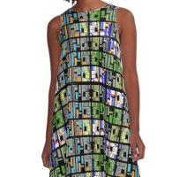WALL OF THE ADEPT 72 A-Line Dress