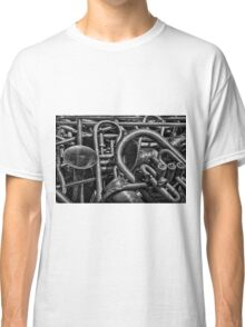 Old Brass Musical Instruments BW Classic T-Shirt