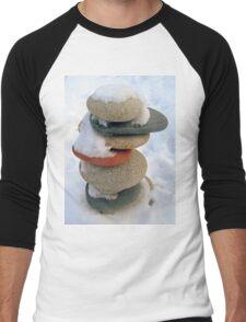 snow rock  Men's Baseball ¾ T-Shirt