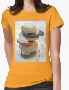 snow rock  Womens Fitted T-Shirt