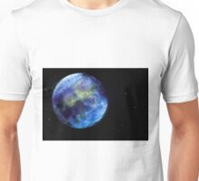 earth in blue Unisex T-Shirt