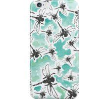 Dragonfly Handmade Print iPhone Case/Skin