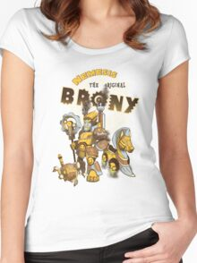 Nemesis the Original Brony Women's Fitted Scoop T-Shirt
