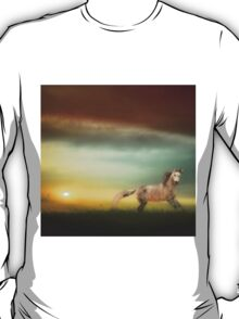 Stallion In The Sunset T-Shirt
