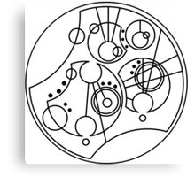 'Gallifrey Falls No More' in Gallifreyan Canvas Print