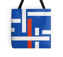 Red Pole Tote Bag