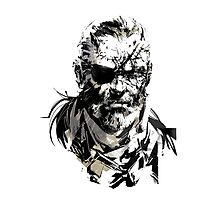 Solid Snake Photographic Print
