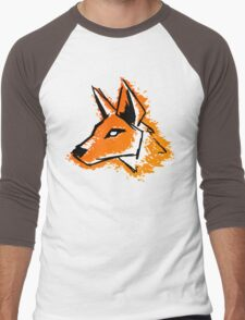 Splash Fox Men's Baseball ¾ T-Shirt