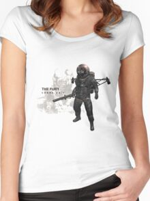 The Fury Women's Fitted Scoop T-Shirt