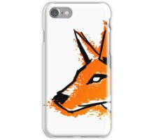 Splash Fox iPhone Case/Skin