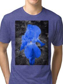 rare blue iris Tri-blend T-Shirt