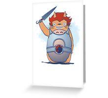 Totor-o Greeting Card