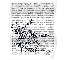 We're All Stories Poster
