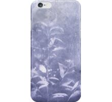 periwinkle blue rush iPhone Case/Skin