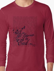 We're All Stories Long Sleeve T-Shirt