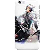 allen clown crown from d. gray man  iPhone Case/Skin
