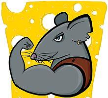 Rat power by burenkaUA