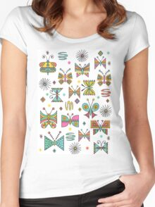 Butterfly Joy Women's Fitted Scoop T-Shirt