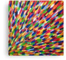 multi-coloured flash Canvas Print