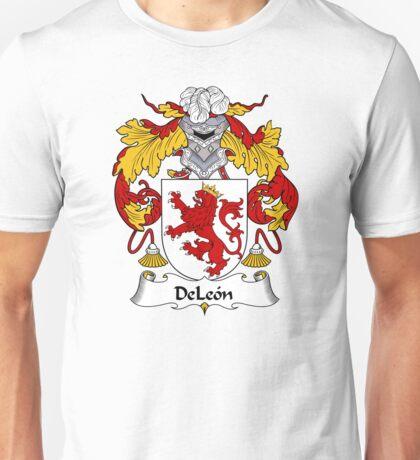 DeLeon Coat of Arms/Family Crest Unisex T-Shirt