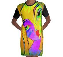 veronica Graphic T-Shirt Dress