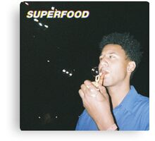 SUPERFOOD COVER Canvas Print