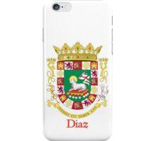 Diaz Shield of Puerto Rico iPhone Case/Skin