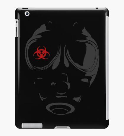 biohazard gasmask iPad Case/Skin