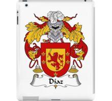 Diaz Coat of Arms/Family Crest iPad Case/Skin