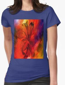 sunset and vine Womens Fitted T-Shirt