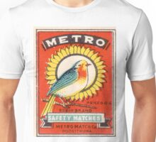 Vintage poster - Metro Matches Unisex T-Shirt