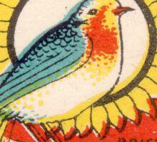 Vintage poster - Metro Matches Sticker